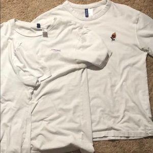 4 H&M T-Shirts